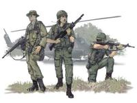 US Airborne Vietnam war (3 fig.)