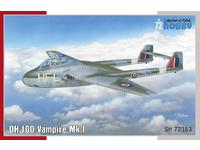 DH.100 Vampire Mk.I  'RAF, RAAF and Armée de l'Air' 1/72
