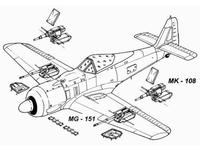 Fw 190 A - armament set for TAM