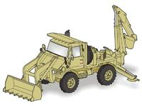 Unimog FLU 419 SEE US Army – full resin kit