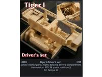 Tiger I - driver's set for TAM