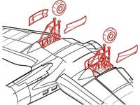 He 111P - undercarriage set for HAS