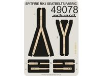 Spitfire Mk.I seatbelts FABRIC