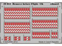 Remove before flight UK