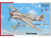 P-40K-1/5 Warhawk 'Short Tail' 1/72