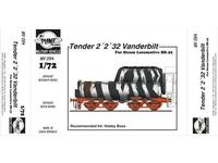 Tender 2¨2¨32 Vanderbilt for BR52 loko.conv.f