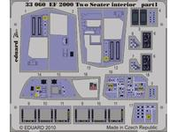EF 2000 Two-seater interior S.A.  1/32