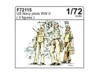 US Navy pilots WW II (3 fig.)