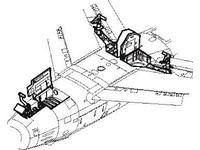 F-86 Sabre - undercarriage set for HAS