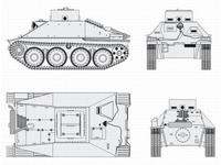 Jagdpanzer 38 Hetzer School version Converson
