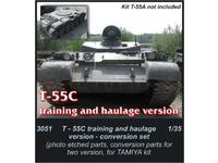 T-55C training and haulage version-conversion