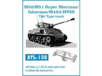 ATL-138 M/50 M/51 Super Sherman