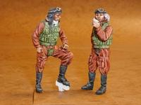 Japanese Navy pilots WWII (2 fig.)