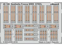 Seatbelts France WWII STEEL