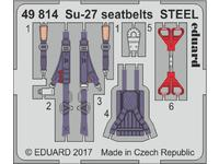 Su-27 seatbelts STEEL