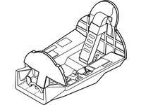 Hawker Hunter - interior set for REV