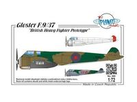 Gloster F.9/37 British Heavy Fighter Prototyp