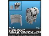 Tempest Mk.V Fuselage Fuel and Oil Tanks
