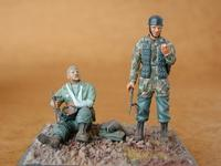German Paratroops (2 fig.)