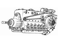 DB- 603 - German engine WW II