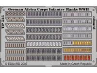 German Africa Corps Infantry Ranks WWII