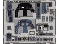 BAC Lightning F.6 interior S.A.  1/32