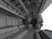 U-Boot IX Front Torpedo Section for REV