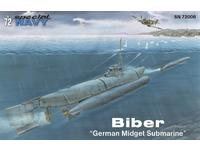 "Biber ""German Midget Submarine"" 1/72"