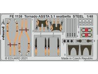 Tornado ASSTA 3.1 seatbelts STEEL 1/48