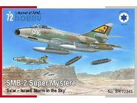 SMB-2 Super Mystère  'Sa'ar – Israeli Storm in the Sky'
