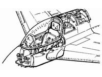 Me-163B - interior set for REV