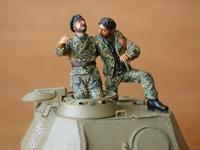 German Tank Crew - France 1944 (2 fig.)