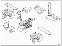 A-1H Skyraider - detail set for HAS