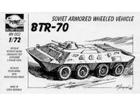 BTR-70 Soviet armored wheeled vehicle