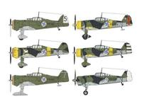 Fokker D.XXI Duo Pack Finland""