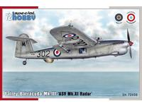 Fairey Barracuda Mk.III 'ASV Mk.XI Radar' 1/72