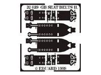 Seatbelts RAF WWII type 2
