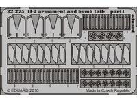 Il-2 armament and bomb tails