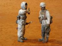 German Infantrymen Winter (2 fig.)