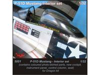 P-51 Mustang-interior set for Drag.