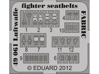 Seatbelts Luftwaffe WWII Fighters FABRIC