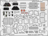 AH-1S Cobra Coloured photo-etched parts 1/72