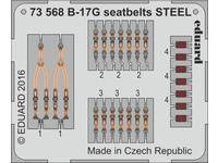 B-17G seatbelts STEEL