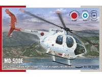 MD-500E Helicopter 1/72