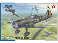 "Fokker D.21 ""Dutch and Dannish"" 1/48"