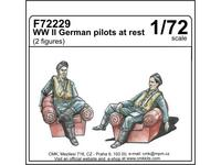 WWII German pilots at rest for HAS