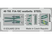 F/A-18C seatbelts STEEL
