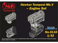 1/32 Tempest – Engine Set for Special Hobby kit