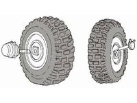 M 939 - wheel set for ITA