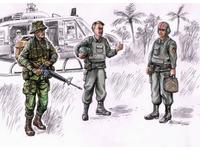 Vietnam LRRP US Helicopter crew (3 fig.)